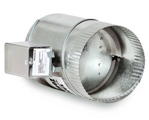 Zone Damper Round 10 inch 24V – CEL Distributors   Air